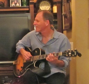 Bruce Forman at CalJAS House Concert